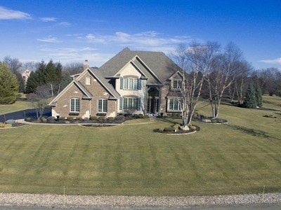 St. Charles Single Family Home For Sale: 38w470 Cloverfield Road