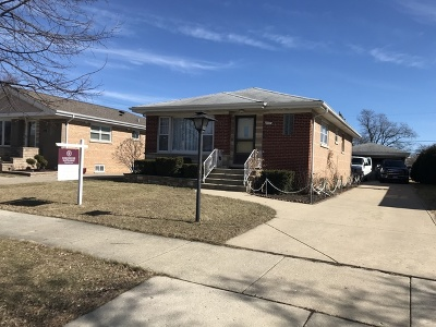Niles Single Family Home Re-Activated: 8457 North Osceola Avenue