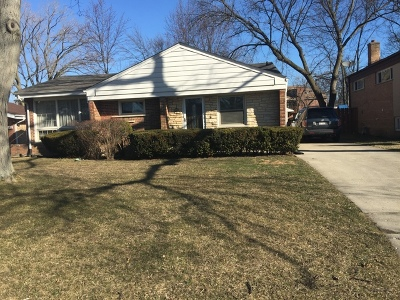 Wilmette Single Family Home For Sale: 3206 Hill Lane