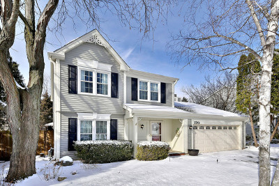 Roselle Single Family Home Price Change: 170 Rosewood Drive