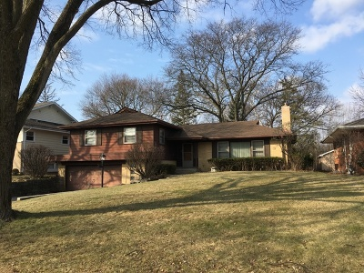 Hinsdale Single Family Home Price Change: 420 North Quincy Street