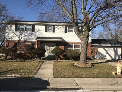 Dolton Single Family Home For Sale: 15733 University Avenue