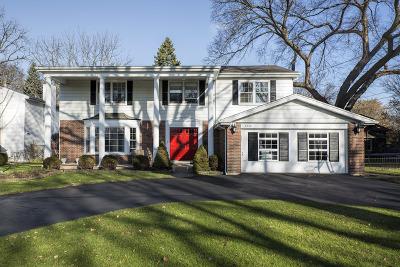 Wilmette Single Family Home For Sale: 2406 Pomona Lane