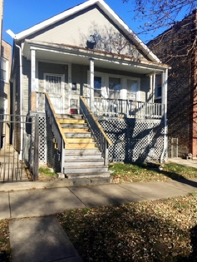 Chicago Single Family Home Re-Activated: 818 West 51st Place West