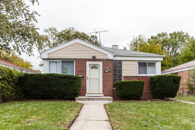 Dolton Single Family Home For Sale: 14425 University Avenue