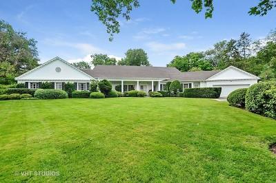 Winnetka Single Family Home For Sale: 115 Woodley Road