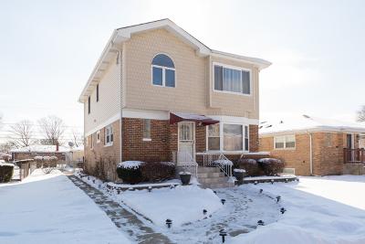 Skokie Single Family Home For Sale: 3837 Jerome Avenue