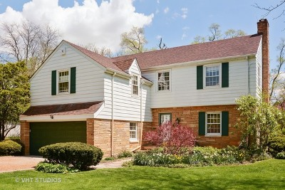 Flossmoor Single Family Home For Sale: 1111 Brassie Avenue