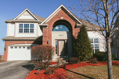 Plainfield Single Family Home Price Change: 26414 West Red Apple Drive