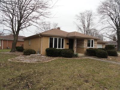 Midlothian Single Family Home For Sale: 3740 153rd Street