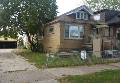 Chicago IL Single Family Home New: $50,000