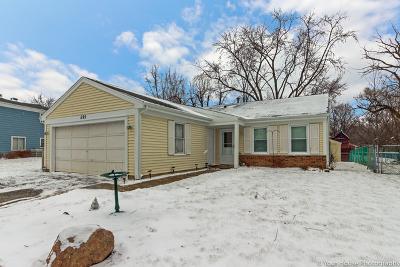 Roselle Single Family Home New: 595 Middleton Drive
