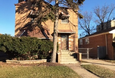 Single Family Home For Sale: 13721 South School Street