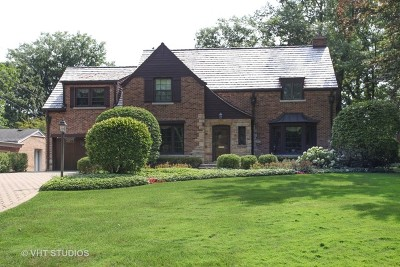 Highland Park Single Family Home For Sale: 261 Lakeside Place