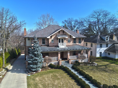 Glen Ellyn Single Family Home For Sale: 215 Taylor Avenue