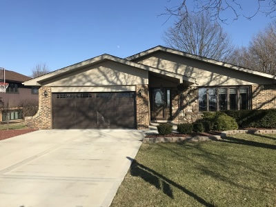 Orland Park Single Family Home For Sale: 13759 South Lady Bar Lane