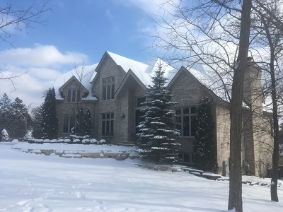 Burr Ridge IL Single Family Home New: $1,599,000