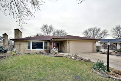 Western Springs Single Family Home For Sale: 5221 Clausen Avenue