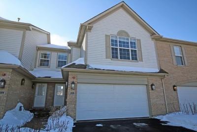Hoffman Estates Condo/Townhouse For Sale: 2008 Ivy Ridge Drive