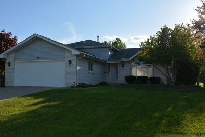 Oswego Single Family Home New: 505 Bison Road