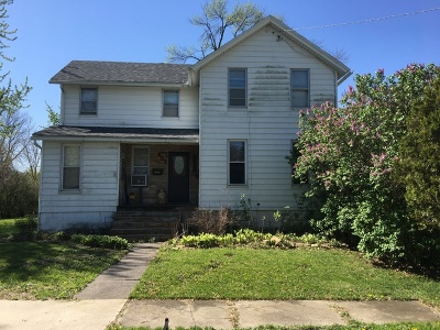 Dwight Single Family Home For Sale: 405 East Williams Street