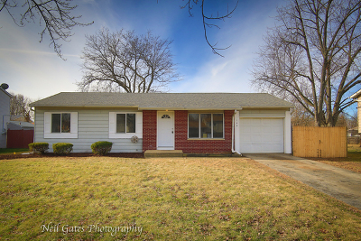 Bolingbrook Single Family Home New: 149 Olympic Drive