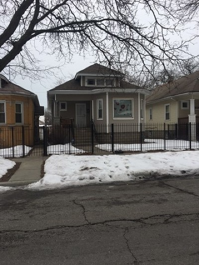 Chicago IL Single Family Home New: $105,500