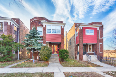Chicago Multi Family Home New: 7504 South Green Street