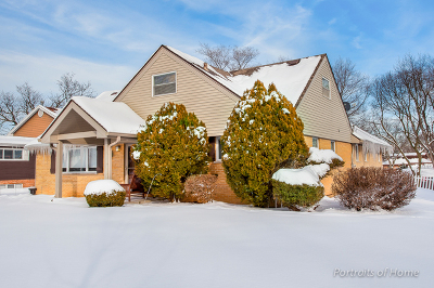 Du Page County Single Family Home New: 1n575 Park Boulevard