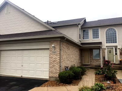 Tinley Park Condo/Townhouse New: 7925 Belle Rive Court #7925