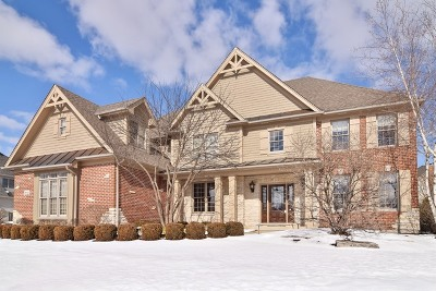 St. Charles Single Family Home For Sale: 39w720 Walt Whitman Road