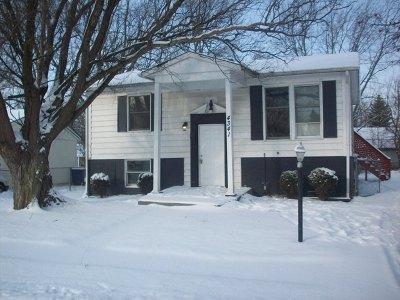 Richton Park IL Single Family Home New: $59,900