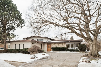 Wilmette Single Family Home For Sale: 543 Lavergne Avenue