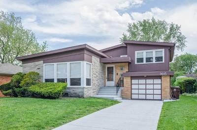 Skokie Single Family Home For Sale: 3615 Grove Street
