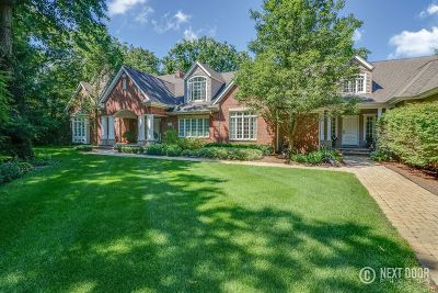 Naperville Single Family Home New: 2275 Lisson Road