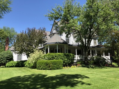Flossmoor Single Family Home New: 1222 Brassie Avenue