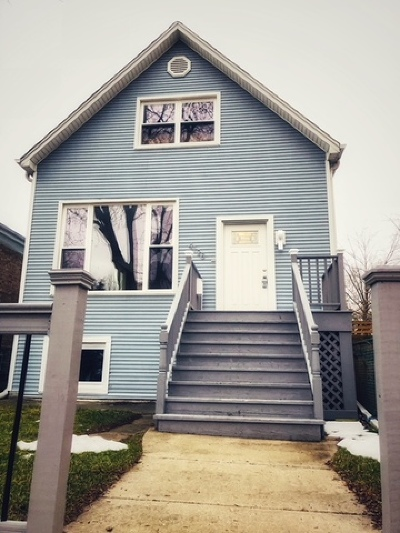 Chicago Single Family Home New: 4128 North Lawndale Avenue