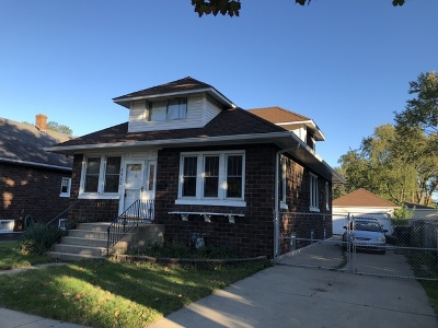 Tinley Park Single Family Home Contingent: 6920 173rd Place