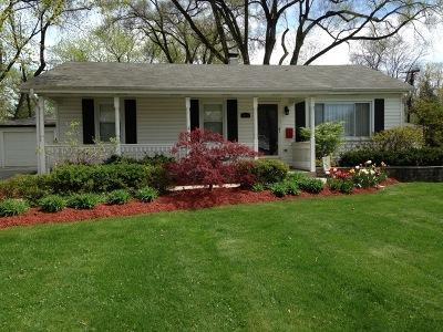 Wheaton Single Family Home For Sale: 1309 Washington Street
