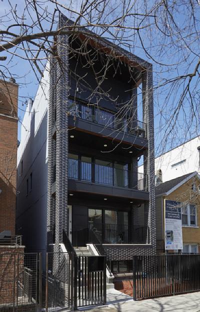 Chicago Condo/Townhouse New: 1064 North Paulina Street #2