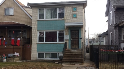 Chicago Multi Family Home New: 4633 North Kilbourn Avenue North