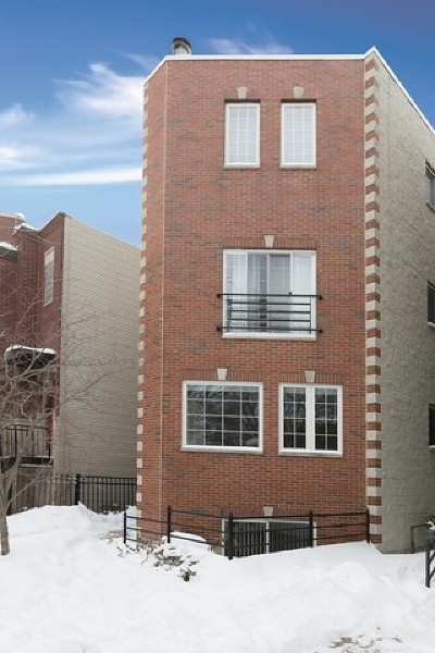 Chicago Condo/Townhouse New: 1266 North Wood Street #1
