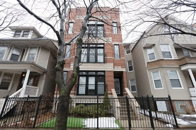 Chicago Condo/Townhouse New: 3822 North Damen Avenue #3