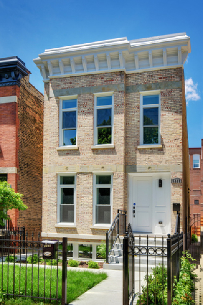 Chicago Single Family Home New: 1336 North Oakley Boulevard
