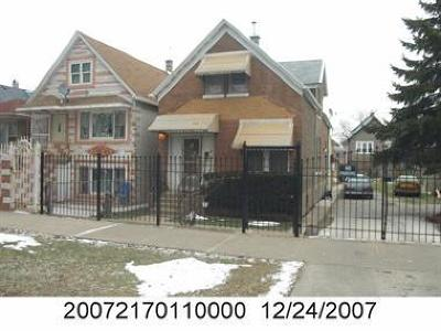 Chicago Single Family Home New: 4935 South Winchester Avenue