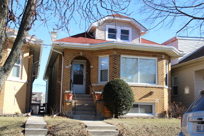 Chicago Single Family Home New: 3225 North Natchez Avenue
