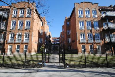 Chicago Rental For Rent: 1642 West Greenleaf Avenue #1N