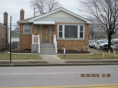 Chicago Single Family Home New: 5159 South Central Avenue