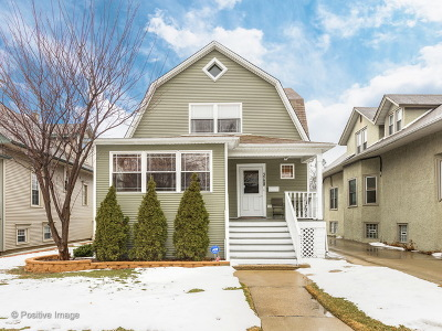 Chicago Single Family Home New: 3728 North Lawndale Avenue