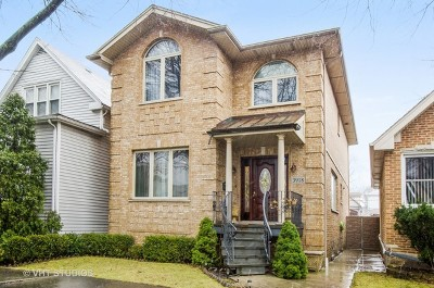 Chicago Single Family Home New: 3918 North Oak Park Avenue